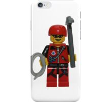 LEGO Climber with Ice Axe and Rope iPhone Case/Skin