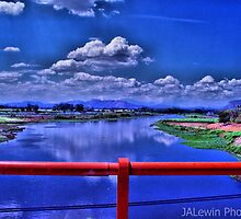 Bridge over Lempa River by jalewin