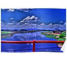 Bridge over Lempa River Poster