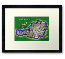 Austrialia Framed Print