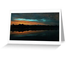 A Turquoise Sky Greeting Card