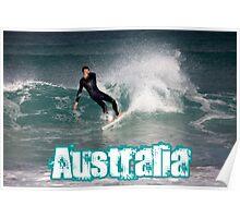 Surfing Australia Poster