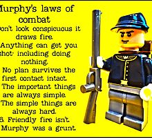 Murphy's laws of combat by Tim Constable by TimConstable