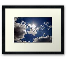 Excuse Me While I Kiss The Sky Framed Print