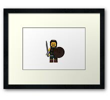 LEGO Highland Battler Framed Print