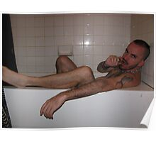 In the tub Poster