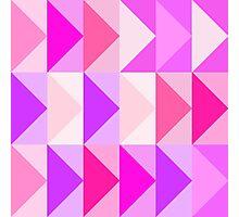 pink vectors Photographic Print