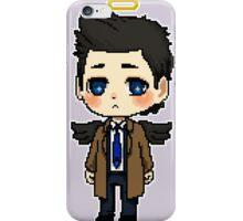 Pixel Art Supernatural Castiel iPhone Case/Skin