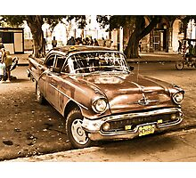 Old Taxi Photographic Print