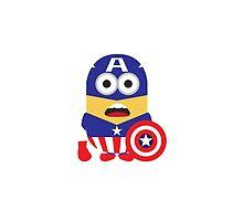Minion Superhero (Captain America) by joetyrex