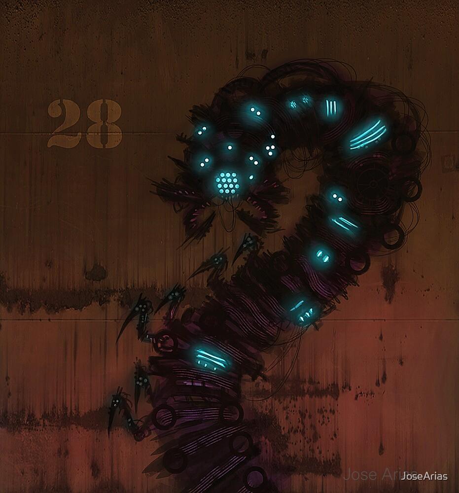 Mecha-Worm by JoseArias