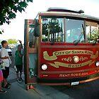 Rosie the Bus - Santa Rosa - California by Jack McCabe