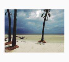Stormy Beach Scene One Piece - Short Sleeve