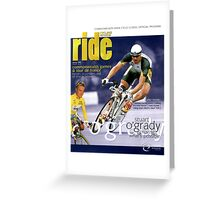 RIDE Cycling Review Issue 2 Greeting Card