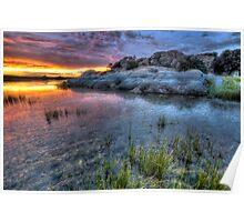 Sunset Palette Poster