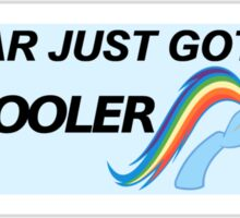 Rainbow Dash - Cool Sticker  Sticker