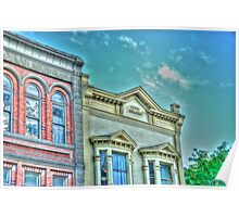 The Terry Building Port Townsend , Washington  Poster