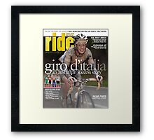 RIDE Cycling Review Issue 49 Framed Print