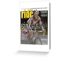 RIDE Cycling Review Issue 49 Greeting Card