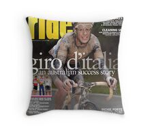 RIDE Cycling Review Issue 49 Throw Pillow