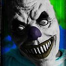 "Stephen King ""IT"" Inspired - Scary Clown by clydeessex"