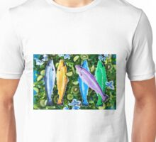 Fish in a green salad Unisex T-Shirt