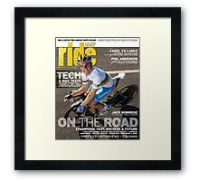 RIDE Cycling Review Issue 47 Framed Print