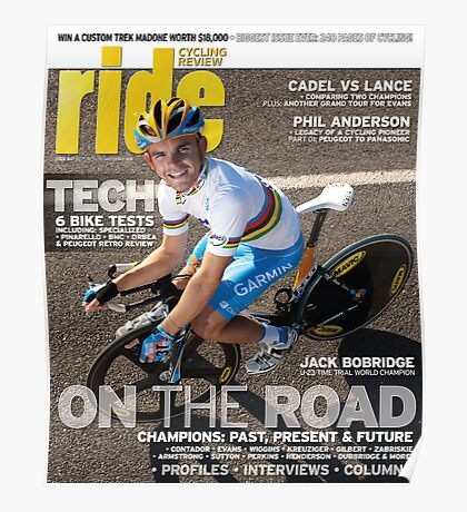 RIDE Cycling Review Issue 47 Poster