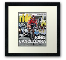 RIDE Cycling Review Issue 48 Framed Print