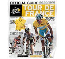 Tour de France Guide 2010 Poster