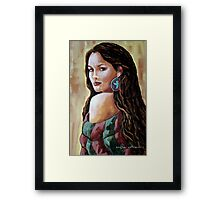 Phoenix Wrapped In Tradition Framed Print