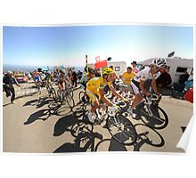 Grimpeurs Andy Schleck & Alberto Contador - 2009 Tour de France Poster