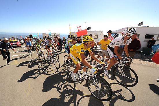 Grimpeurs Andy Schleck & Alberto Contador - 2009 Tour de France by RIDEMedia