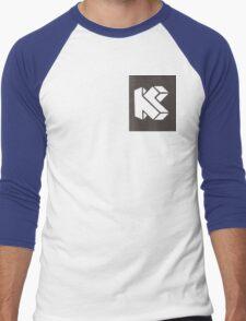 K is for Killmonkies Men's Baseball ¾ T-Shirt