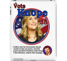 Vote Knope for President iPad Case/Skin