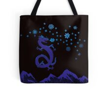 Northern Lights Dragon Tote Bag
