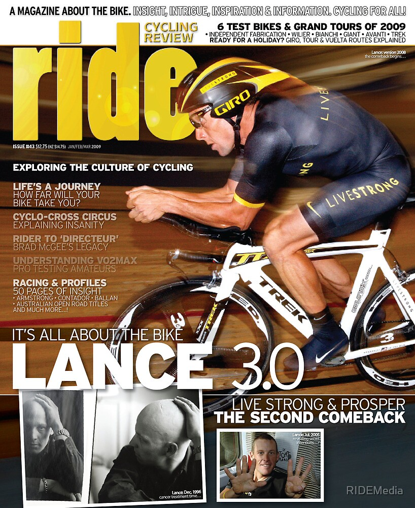 RIDE Cycling Review Issue 43 - Lance Armstrong by RIDEMedia