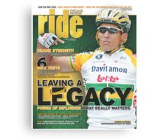 RIDE Cycling Review Issue 31 Canvas Print