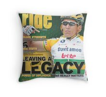 RIDE Cycling Review Issue 31 Throw Pillow