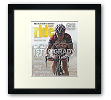 RIDE Cycling Review Issue 38 Framed Print