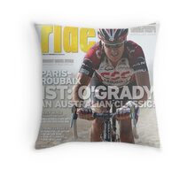 RIDE Cycling Review Issue 38 Throw Pillow