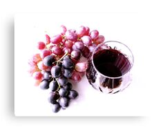 Red wine Canvas Print