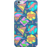 Nineties Dinosaurs Pattern iPhone Case/Skin