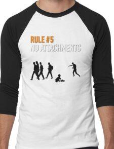 RULE #5 NO ATTACHMENTS Men's Baseball ¾ T-Shirt