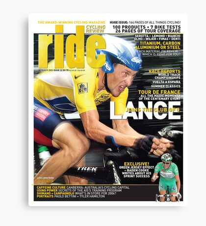 RIDE Cycling Review Issue 22 Canvas Print