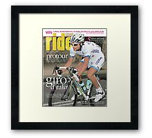 RIDE Cycling Review Issue 29 Framed Print