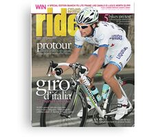 RIDE Cycling Review Issue 29 Canvas Print