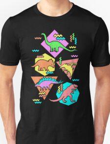 Nineties Dinosaurs Pattern T-Shirt