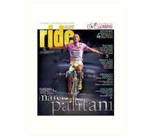 RIDE Cycling Review Issue 24 - Marco Pantani Art Print