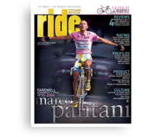 RIDE Cycling Review Issue 24 - Marco Pantani Canvas Print
